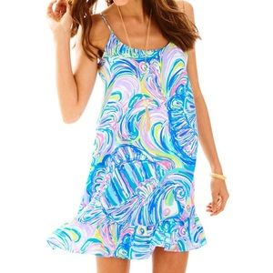 Lilly Pulitzer Zanna Shift Dress Size M